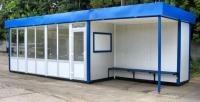 Киоск-остановка 59.2 кв.м сэндвич-панель