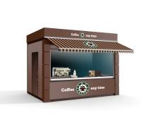 Кафе 18 кв.м сэндвич-панельи