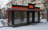 Офис продаж  сэндвич-панель 30.24 кв.м