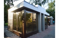 Офис продаж из сэндвич панели  25.5 кв.м