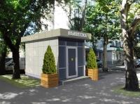 Торговый киоск 21.42 кв.м из сэндвич-панелей