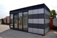 Мобильный офис из сэндыич-панелей 28 м.кв
