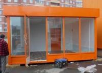 Торговый павильон 31.5 кв.м сэндвич-панель