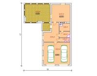 Дачный домик 221 кв.м. внутренняя отделка Вагонка