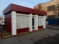 Офис модульного типа 7.6х4.8х3 м.Внутренняя отделка вагонка.