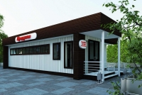 Магазин  сэндвич-панель 48 кв.м