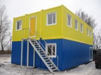 Общежитие 15х7,2х5м внутренняя отделка Вагонка
