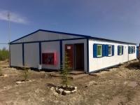 Общежитие из блок-контейнеров 144 кв.м, 9.6х15х3.1