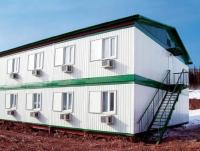 Общежитие из блок-контейнеров 336 кв.м, 12х14х6.5