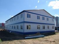 Общежитие из блок-контейнеров 840 кв.м, 30х14х7