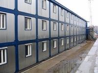 Общежитие из блок-контейнеров 1728 кв.м, 36х16х9
