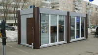 Мобильный офис из сэндвич-панелей 18 кв.м