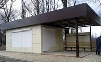 Киоск-остановка 21 кв.м сэндвич панель