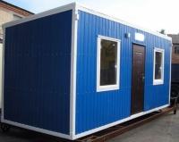 Блок-контейнер 6.0x2.4x2.5м, внутренняя отделка ЛДСП