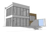 Двухэтажный офис 72 кв.м сэндвич-панель