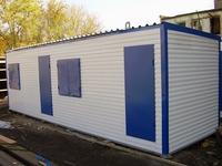 Блок-контейнер 8.0x2.4x2.5м, внутренняя отделка МДФ