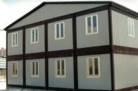 Общежитие 9,6х6х5м (115,2 кв.м) внутренняя отделка МДФ