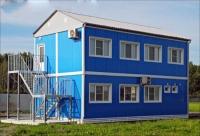 Общежитие 12х4,8х6,5м внутренняя отделка Вагонка