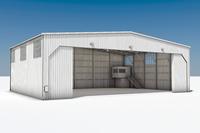 Ангар для вертолётов 432 кв.м