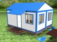 Дачный домик 28,8 м.кв (6х4,8х3,1м) на базе блок контейнеров внутренняя отделка ПВХ