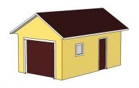 Гараж 3,6х7х3м (гараж заводской теплый 25,2 м.кв)