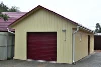 Гараж 3,6х9х3,1м (теплый гараж дя дачи 32,4 м.кв)
