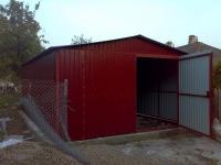 Гараж 3,6х6х3,1м (холодный гараж для дачи 21,6 м.кв)