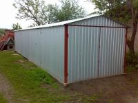 Гараж с сараем 3,6х12х2,5м (гараж и сарай в одной конструкции для дачи 43,2 м.кв)