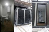 Зимняя душевая и туалет 2,4х2,5х2,5м