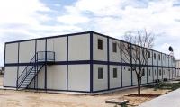 Гостиница из блок-контейнеров на 806,4 кв.м сэндвич-панель