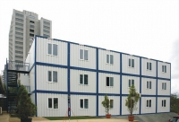 Гостиница 14x14,4x7,5м внутренняя отделка Вагонка