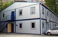 Гостиница 14x14,4x6,5м внутренняя отделка Вагонка