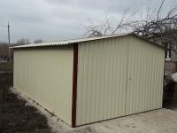 Гараж 3,6х6х3м (холодный гараж для дачи )
