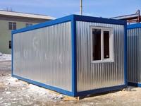 Блок-контейнер 5.8x2.4x2.5м, внутренняя отделка ДВП