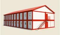 Гостиница из блок-контейнеров 672 кв.м, из сэндвич-панелей