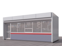 Торговый павильон 21,6 м.кв сэндвич-панель