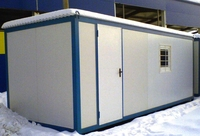 Блок-контейнер 7.0x2.4x2.5м,из сэндвич панелей