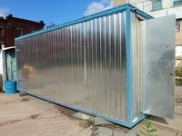 Блок-контейнер 5.8x2.4x2.5м, внутренняя отделка ДВП (блок-бытовка)