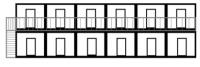 Гостиница 6х14,4х5. Внешняя отделка МДФ.
