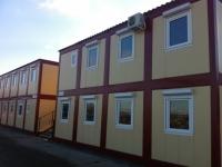 Общежитие на 134.4 кв.м (общежитие для рабочих 7х9,6х5 м.) одно здание