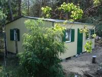 Дачный домик 28,8 м.кв (4,8х6х2,5м)  внутренняя отделка МДФ