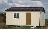 Дачный домик 32 кв.м.  внутренняя отделка ПВХ