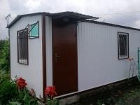 Дачный домик 14,4 кв.м. внутренняя отделка Вагонка