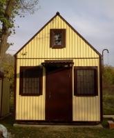 Дачный домик 12 кв.м.внутренняя отделка МДФ