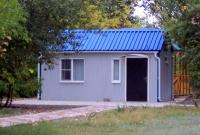 Дачный домик 18 кв.м. на базе блок контейнеров внутренняя отделка Вагонка