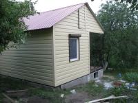 Дачный домик 28,8 кв.м.внутренняя отделка МДФ