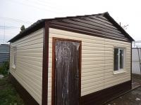 Дачный домик 28,8 м.кв (4,8х6х3,1м) внутренняя отделка Вагонка