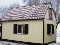 Дачный домик 24 кв.м.внутренняя отделка МДФ