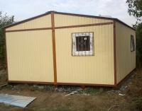 Дачный домик 4.8х6,2,8 м.кв, внутренняя отделка МДФ