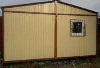 Дачный домик 4,8х6х2,8 м на базе блок контейнеров внутренняя отделка ПВХ